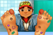 Subway Surfers: Лечим ноги