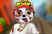 Subway Surfers: тату на лице