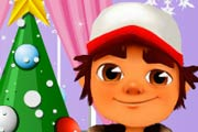 Игра Ёлка Subway Surfers