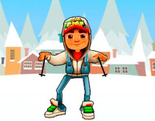 Subway Surfers на лыжах